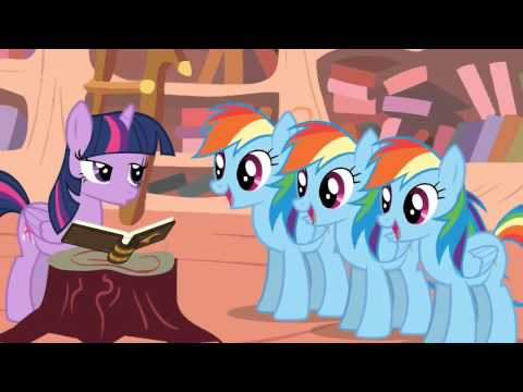 anision rainbow dash song