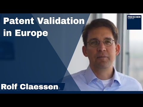 💡 Patent Validation in Europe #rolfclaessen