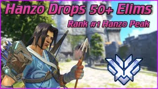 """WHAT IS THIS GUY DOIN?"" Hanzo 50+ Eliminations Samito Rank #1 Peak!"