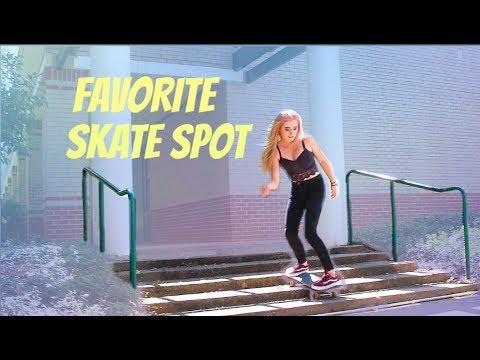 Favorite Skate Spot | Savannah Amethyst