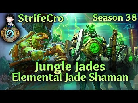 Hearthstone Elemental Jade Shaman: Jungle Jades