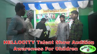 Hellocity Talent Show Audition  Justice For Asifa  Awareness For Children  Chennai City Events