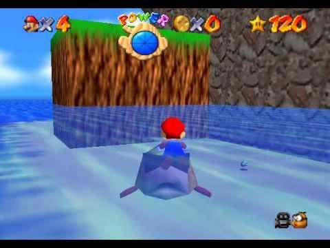 Vore super mario 64 n64 bubba youtube for Mario go fish