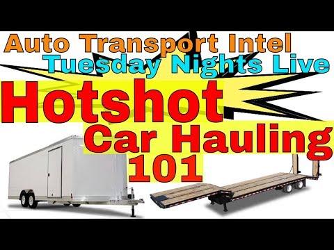 Hotshot Car Hauling: Auto Transport Business Startup How To Make Money