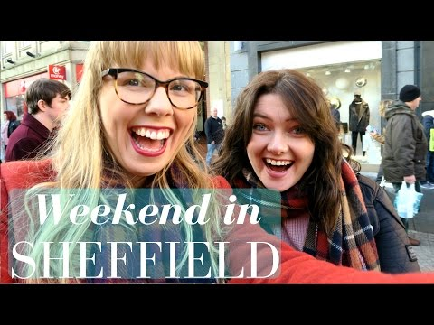 Weekend in Sheffield, my university city  | Travel vlog
