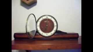 Anker Westminster Chime Art Deco Mantel Clock