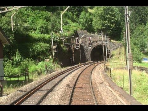 Gotthardbahn, unterwegs auf alten Gleisen-World Famous Gotthard Railway part 2-Zug,trainfart,train