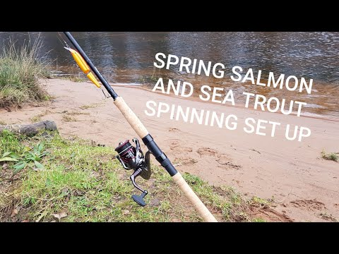 My Early Season Salmon And Sea Trout Spinning Set Up