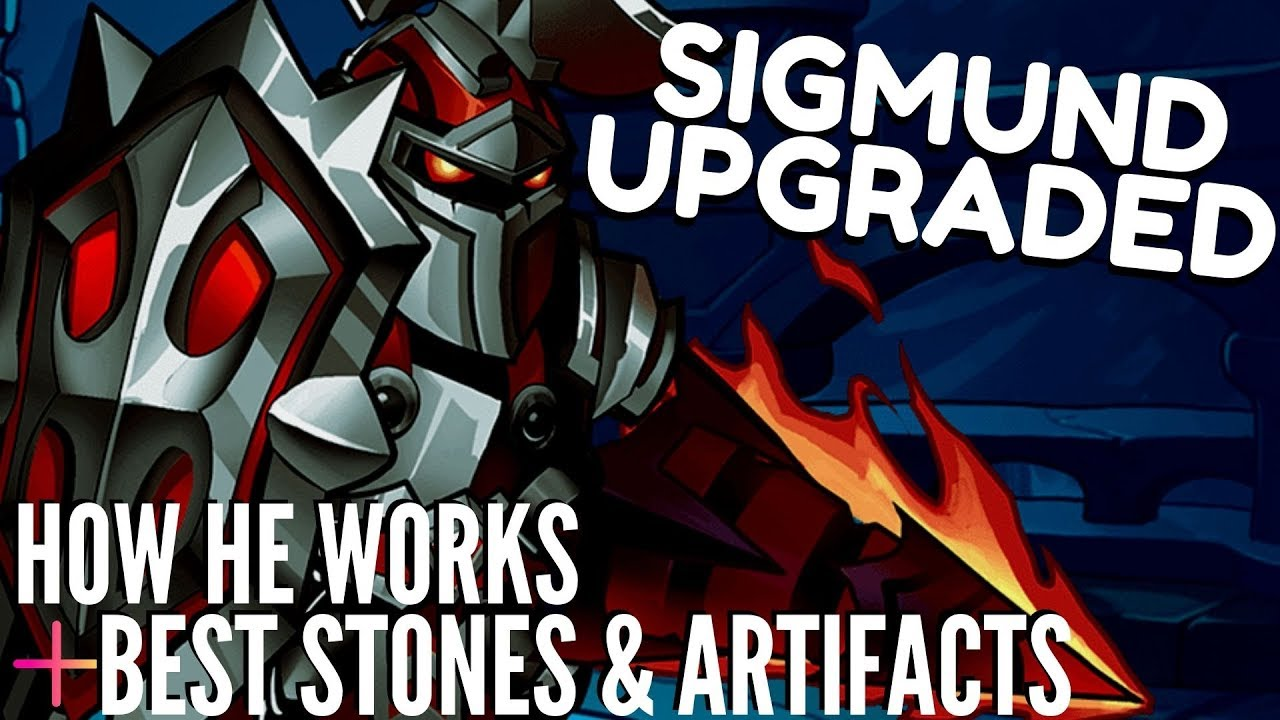 SIGMUND REWORKED! He's Glorious! Sigmund GUIDE + Gameplay & Weekly Events!  | IDLE HEROES
