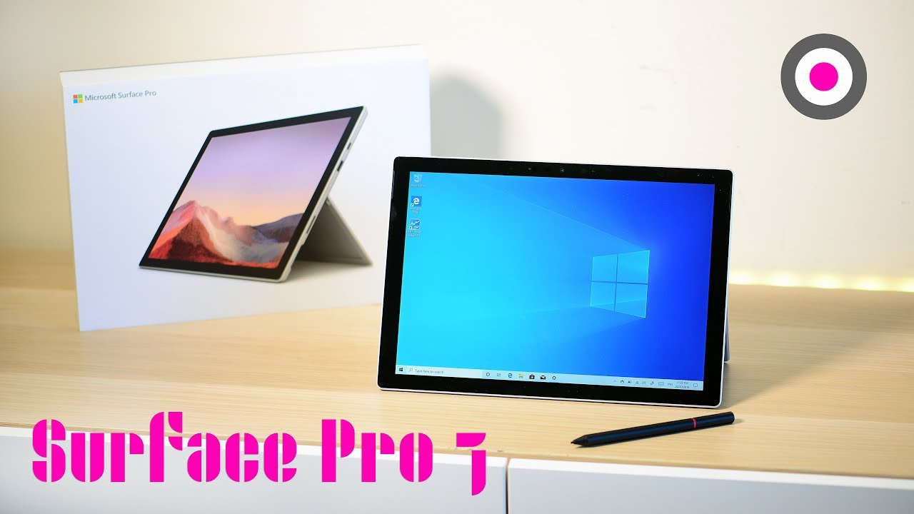 Surface Pro 7 Unboxing 10th Gen Ice Lake First Look