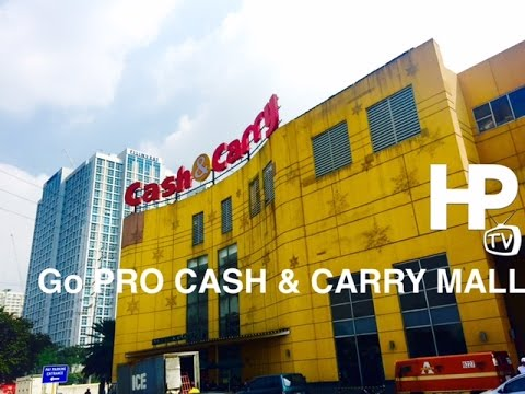 GoPRO Cash & Carry Mall Makati Walking Tour Overview by Hour