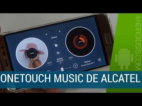 Te enseñamos a instalar El impresionante reproductor de música Onetouch de Alcatel