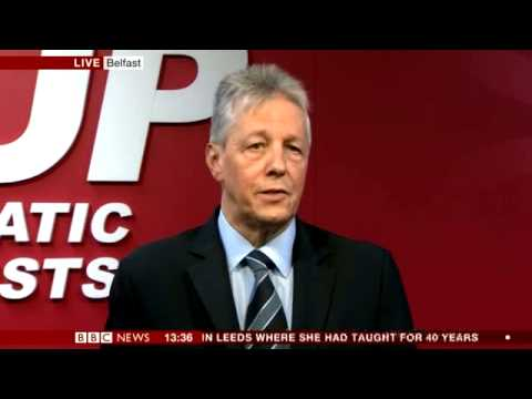 Peter Robinson Comments on Developments in Jean McConville Murder Investigation