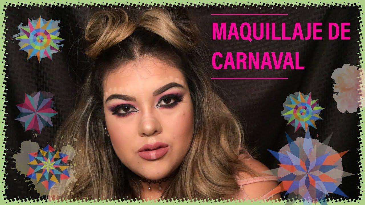 Tips para un Maquillaje Carnavalero // Carnival Makeup ...