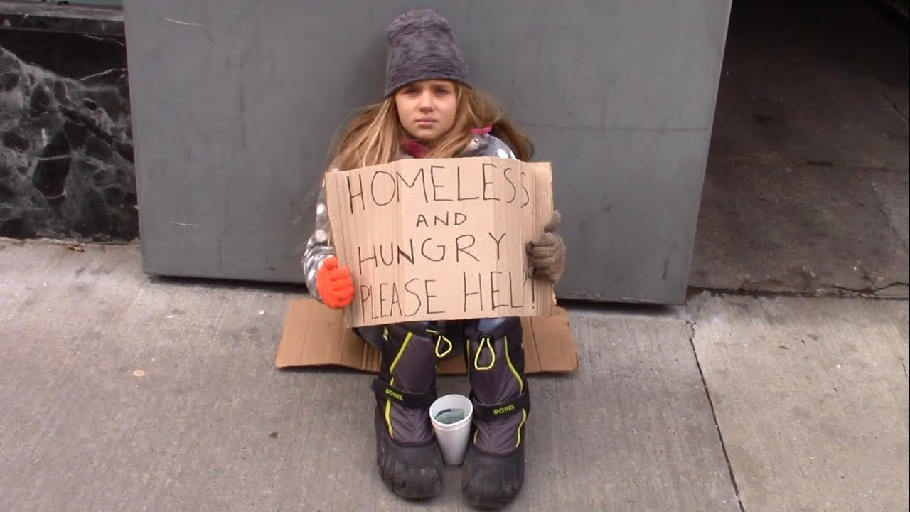 Would You Help A Homeless Child Left On The Street? | Social Experiment