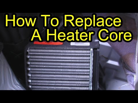 Rear Heater Core Replacement – Chevy Venture Pontiac Montana Olds Silouhette 3.4L V6 Engine