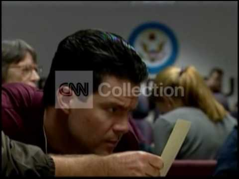 ELECTION 2000:VOTE RECOUNT (HANGING CHADS!)