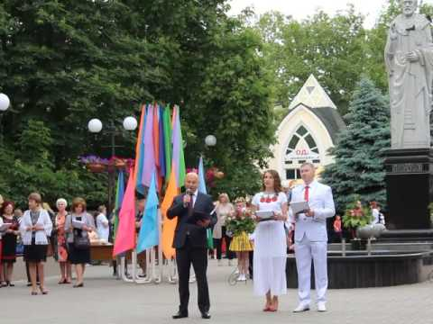 Moy gorod: Мой город Н: Андрей Дадиверин поздравляет выпускников 2017
