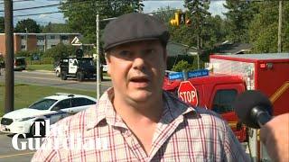 Witness to Canada shooting recounts moment he heard guns