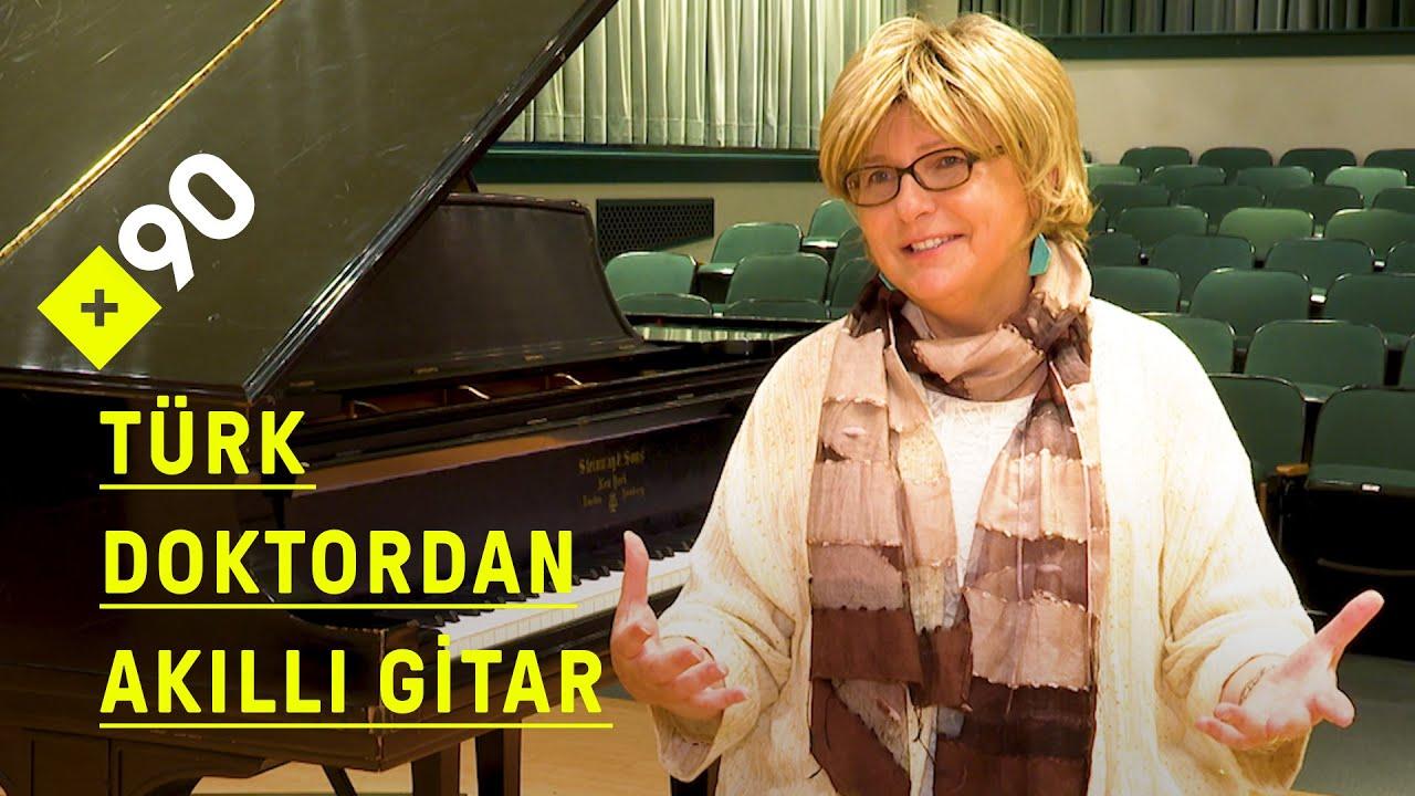 Türk doktordan akıllı gitar: