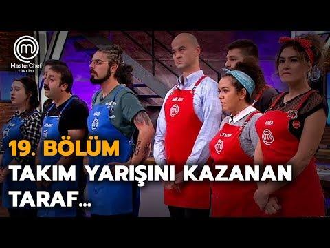 Takım yarışını kazanan takım belli oldu   19. Bölüm   MasterChef Türkiye