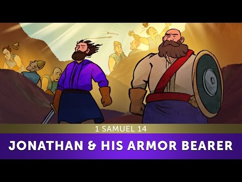 Jonathan And His Armor Bearer - 1 Samuel 14 | Sunday School Lesson And Bible Story For Kids | HD