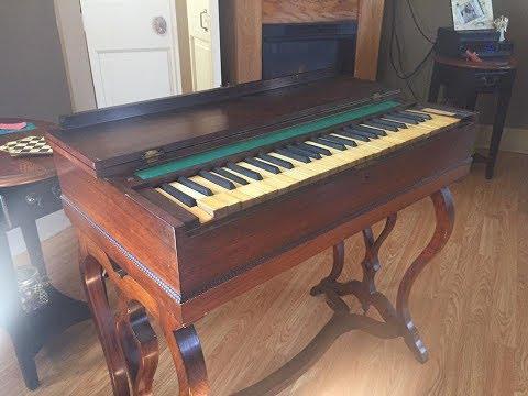 Fixing an 1846 Prince & Co. Melodeon Pump Reed Organ