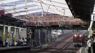 カシオペア信州ツアー列車を新秋津駅で撮影してみた 牽引機関車はEF64-3...