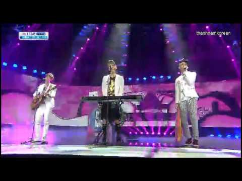 130721 CollaVoice - That Song @ SBS Inkigayo