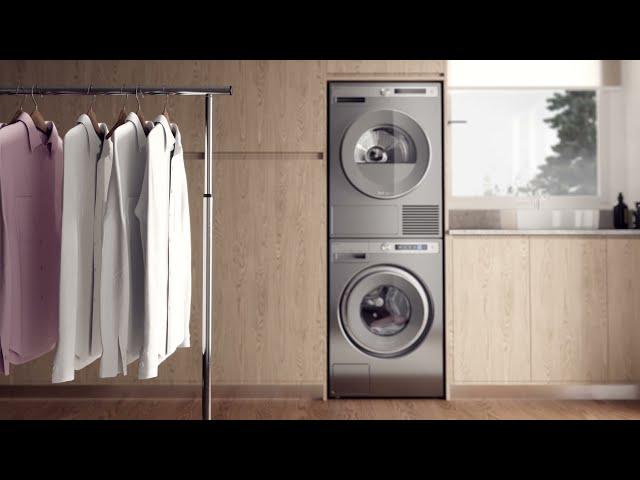 Пар в стиральных машинах ASKO
