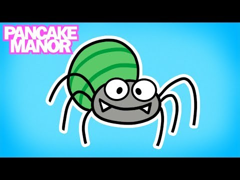 Incy Wincy Spider | Song for Kids | Pancake Manor