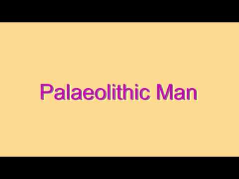 How to Pronounce Palaeolithic Man