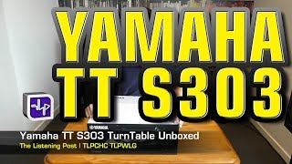 Yamaha TT-S303 Turntable Unbox…
