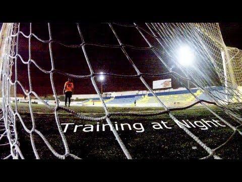 Training at Night - A Soccer Movie