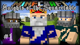 Minecraft | CrazyCraft: Knights of the Squaretable | #1 ZOMBIE INVASION