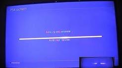 PS4 Daten sichern auf USB Festplatte