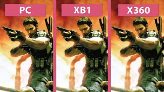 Resident Evil 5 – PC vs. Xbox One HD vs. Xbox 360 Graphics Comparison Biohazard バイオハザード5