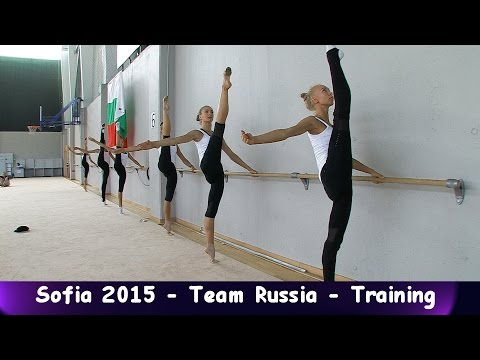 Seniorgroup Russia - Warm Up Sofia 2015