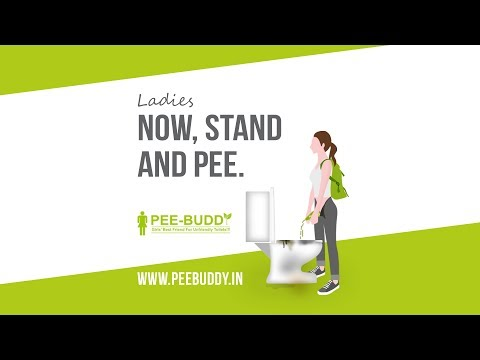 WOW Product for Ladies : PeeBuddy : Now Stand & Pee !