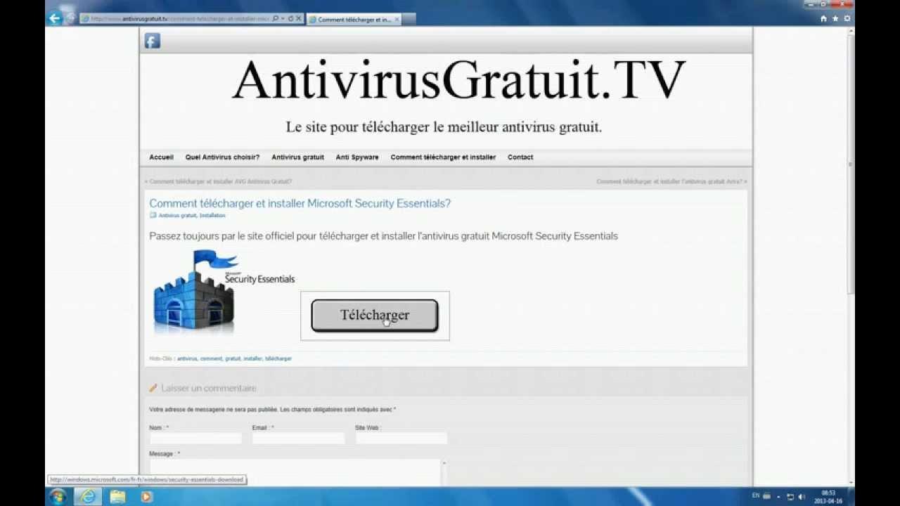 Microsoft security essential xp 32 bit free download - T L Charger Et Installer L Antivirus Gratuit Microsoft Security Essentials