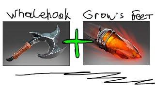 Whalehook + Crow's feet