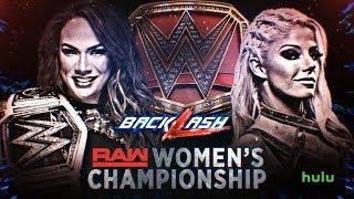WWE Backlash 2018 Alexa Bliss vs Nia Jax 2K18 Simulation