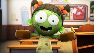 Spookiz | Ottenere sporco | Cartone animato divertente per bambini | WildBrain