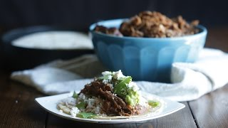 Pressure Cooker Barbacoa Beef Recipe | The Inspired Home