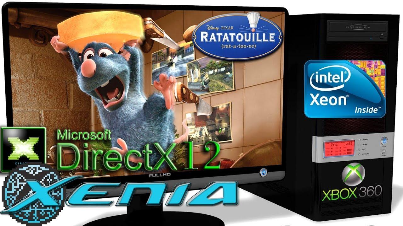 XENIA DX12 [Xbox 360] - Ratatouille [Gameplay] DirectX 12 api #1