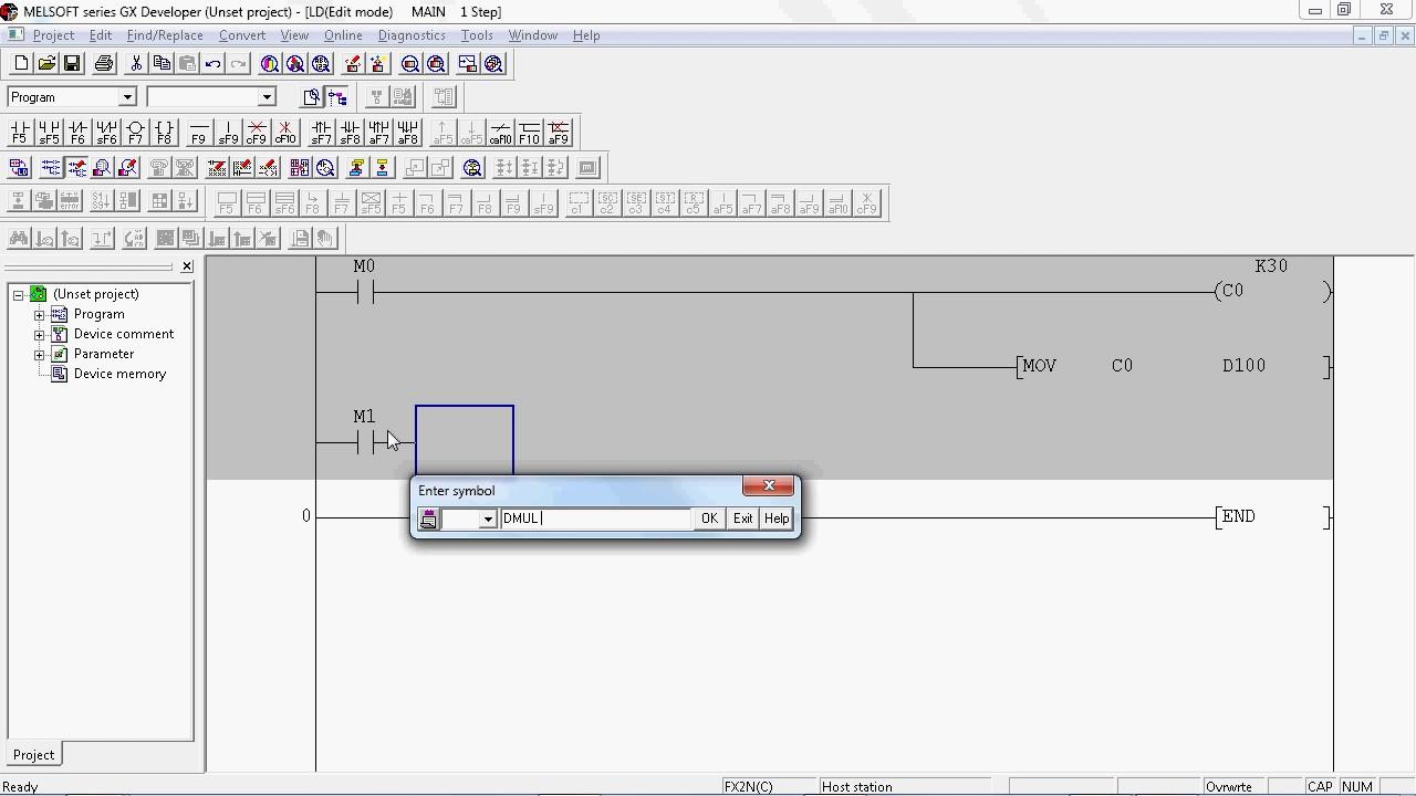 Belajar plc contoh program perkalian youtube belajar plc contoh program perkalian ccuart Gallery