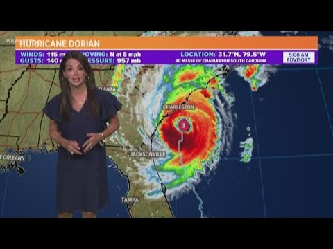 Hurricane Dorian regains strength as Category 3 storm: Landfall possible in North Carolina