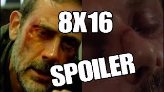 The Walking Dead 8X16 Final TODOS LOS SPOILERS.