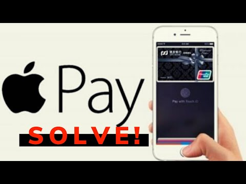How To Fix The Error Have No Menu For Apple Pay And How To Set Up Apple Pay
