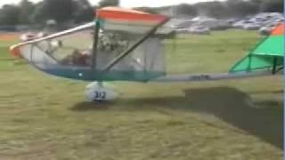 CGS Hawk Arrow single place ultralight aircraft.
